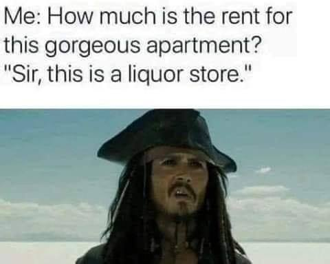 Me: How much is the rent for this gorgeous apartment