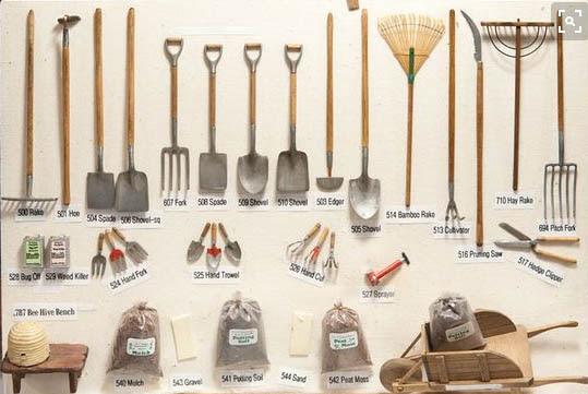 Outils De Jardin Miniature ~ Meilleures Idées Créatives Pour la ...