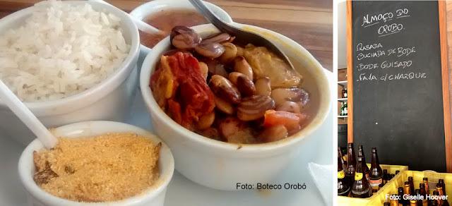 Boteco Orobó, Recife, prato de favas com charque