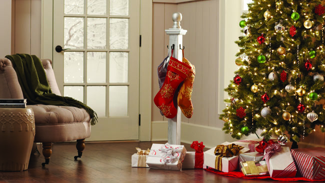 Stocking Holder & The Home Depot Virtual Party