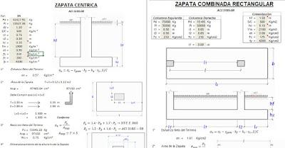 Calculo Zapata Centrica Combinada