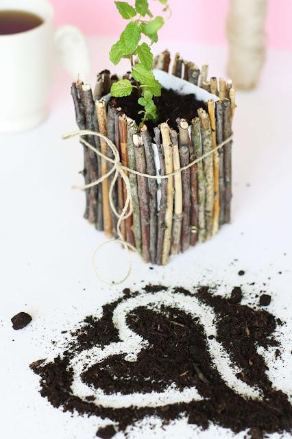 DIY Blumentopf zum Selbermachen - Some Joys