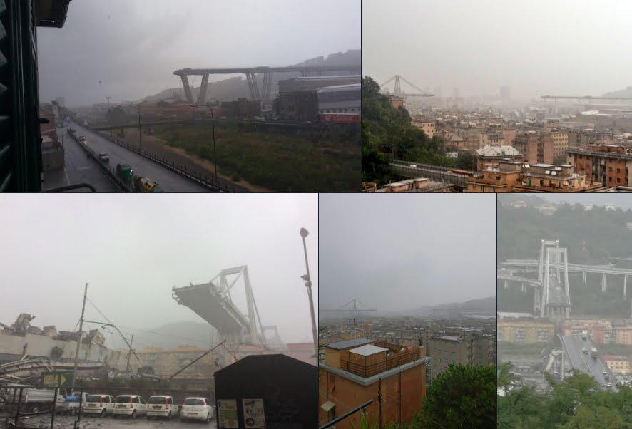Crolla Ponte Morandi a Genova, è una tragedia: si poteva evitare?