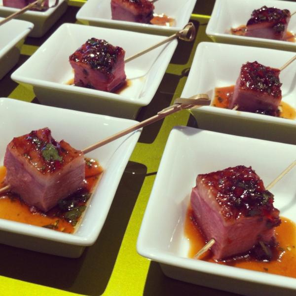 Fine Dining: Eden Fine Dining: Private Residence Canape Reception