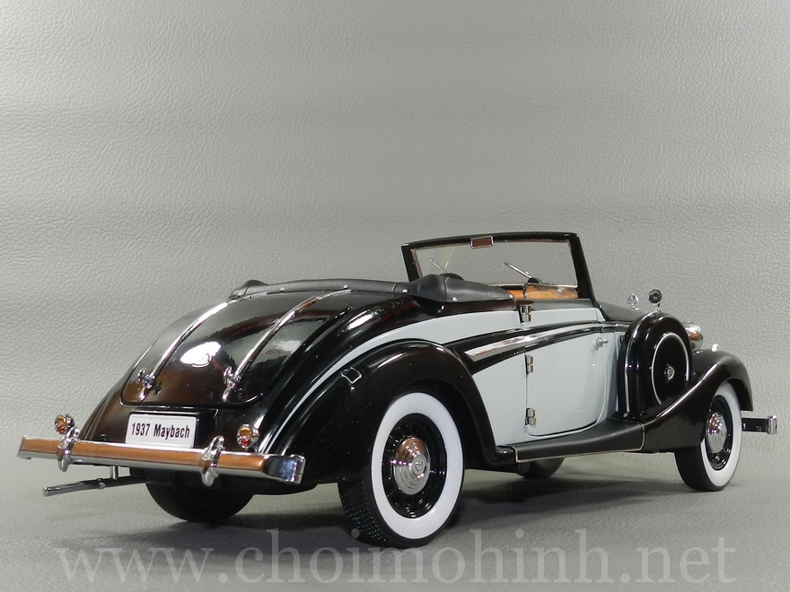 Maybach SW38 1937 1:18 Signature back