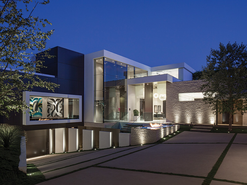 PART TWO Modern Mansion With Wrap Around Pool And Glass Walled Garage For 36