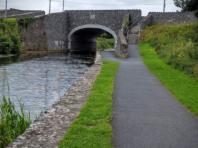 Path along the Royal Canal near Maynooth, Ireland