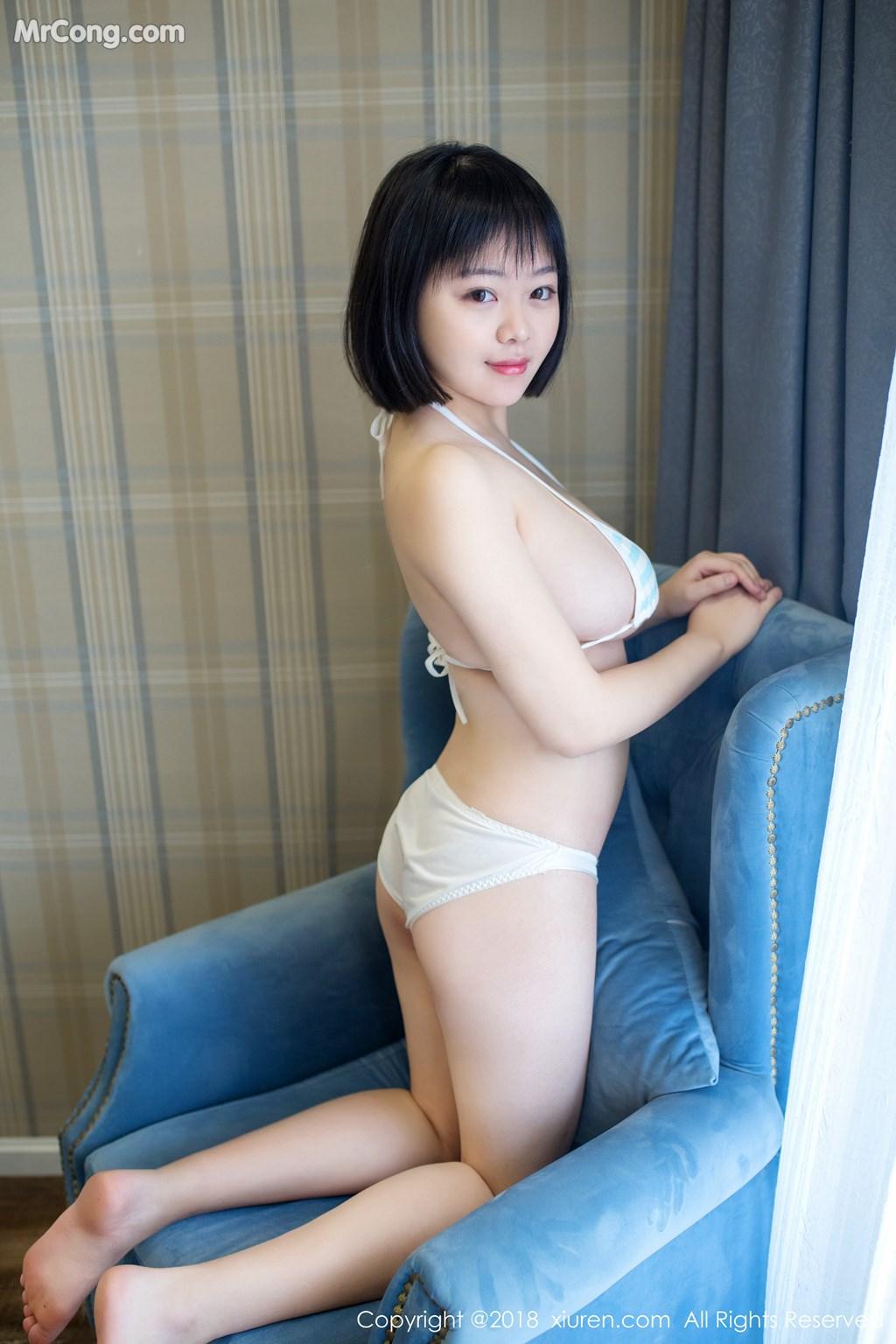 Image XIUREN-No.889-MrCong.com-002 in post XIUREN No.889: Người mẫu 赤间菀枫 (49 ảnh)