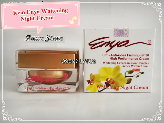 Chuyên cung cấp sỉ lẻ kem Enya Nhật chính hãng các loại