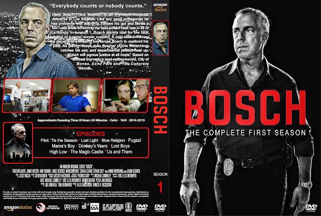 Bosch Season 1 DVD Cover