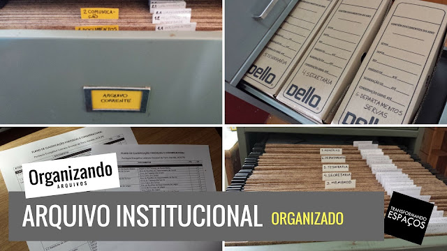 Organização de Arquivo Insitucional em Paróquia da IELB
