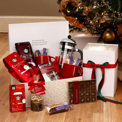 Starbucks Coffee and Chocolate Deluxe Gift Set