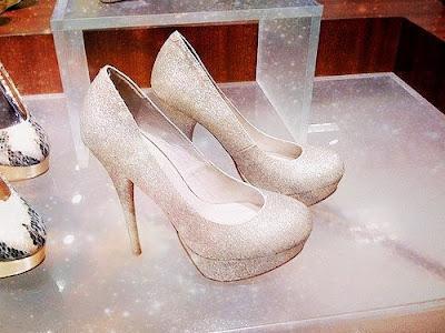 Zapatos blancos de noche