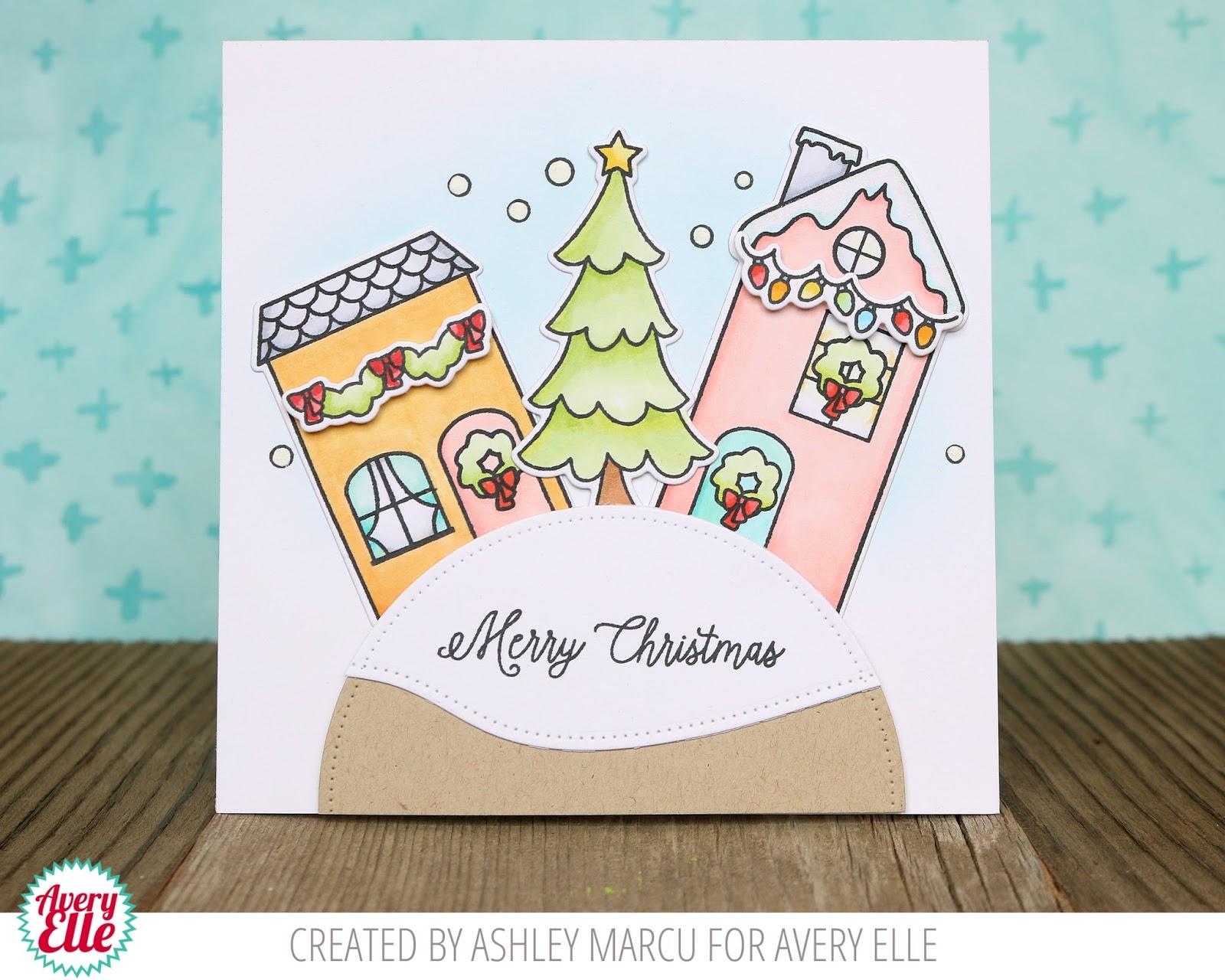 avery christmas card Kordurorddiner
