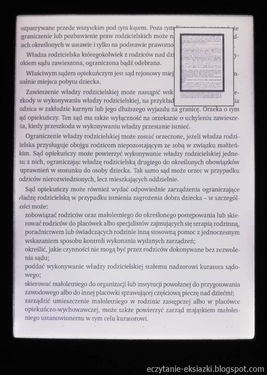 inkBOOK LUMOS - zomm w pliku PDF