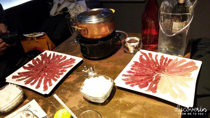 Viandes à fondue