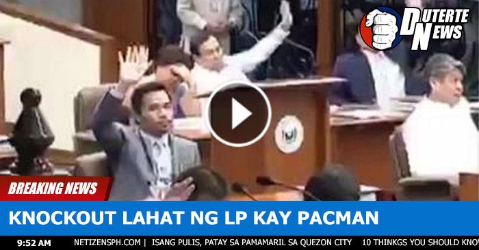 Panoorin Kung Paano Tinanggalan Ni Sen. Pacquio Ng Posisyon Ang Mga Taga Lp Sa Pagiging Chairman Ng Mga Komite