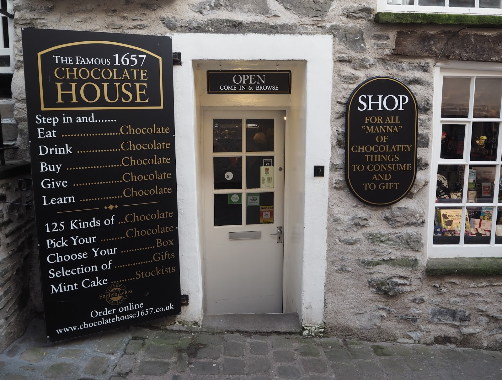The Chocolate House, Kendal