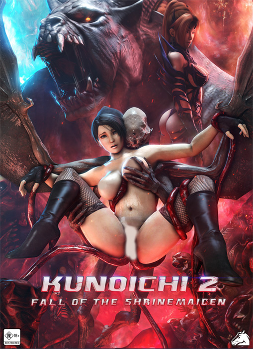 Kunoichi 2: Fall of the Shrinemaiden Vol.1