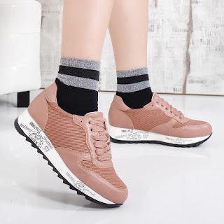 Pantofi sport Anuka roz