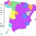 O sobrenome Garcia e outros por região da Espanha