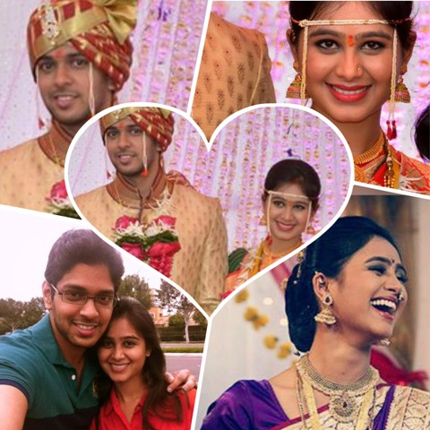 Mrunal Dusanis is married now!