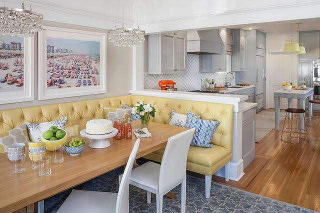 Невероятно красочный интерьер дома в Сан-Франциско