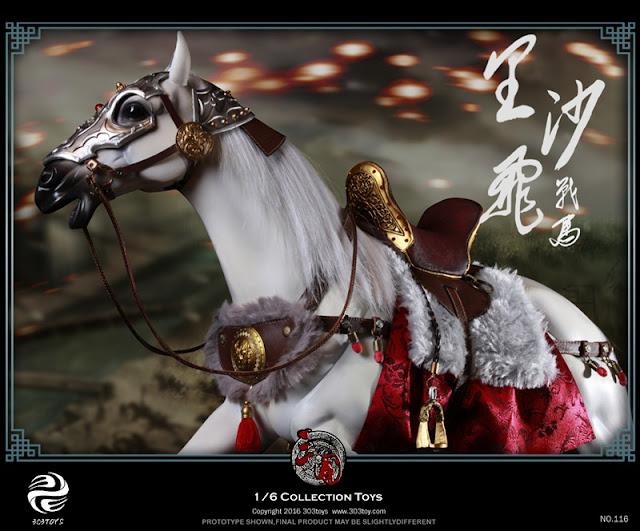 โมเดลสามก๊ก : ม้าเฉียว 303TOYS