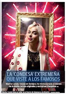 Marina Conde HOY Condesa Extremeña