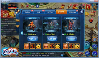 Hack Tru Tiên 3D mobile