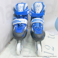 Super Power Inline Skate Sepatu Roda Blue