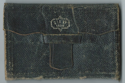 1868 Diary of Willie E. Jordan of Webster, Maine (now Sabattus, Maine)