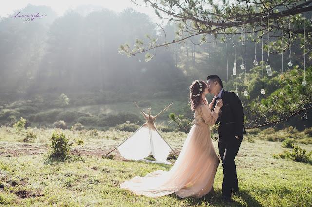 chụp hình cưới ở đà lạt chỗ nào đẹp