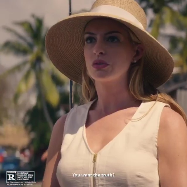 Anne Hathaway's Hot Look in Serenity 2019 Film