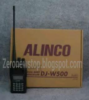 Cara setting ht alinco dj -w500 | zero