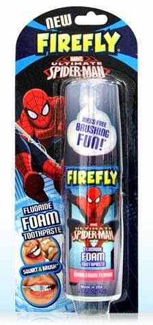 firefly Spider-Man Tooth foam