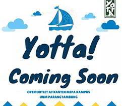 Lowongan Kerja Karyawan Outlet Yotta