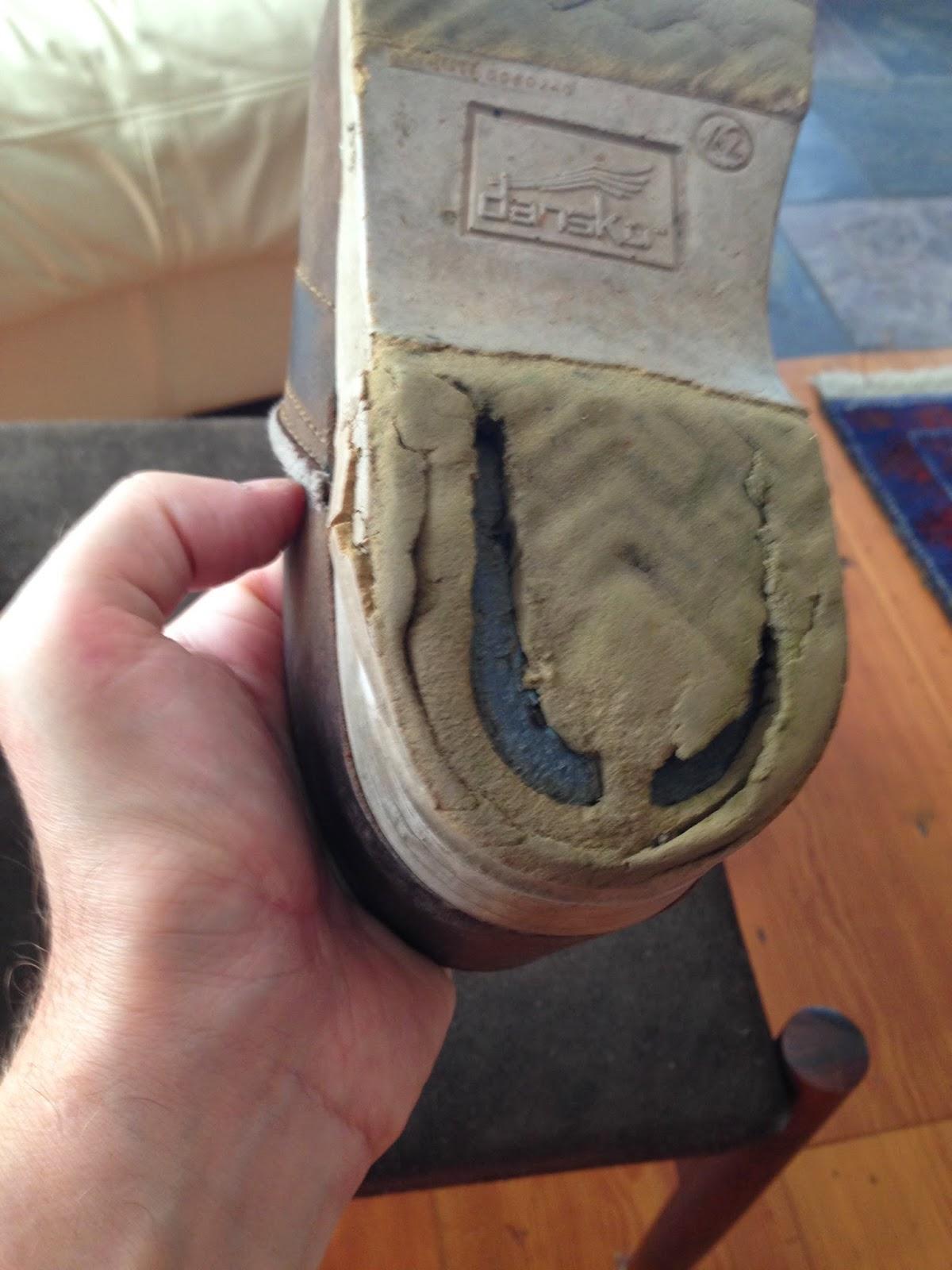 Dansko Shoes Crumbling