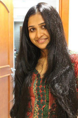 Nandhini Has Waist Length Hair She Maintains Very Well Due To Her Father And Mother Completion But She Is Not Interested To Maintain Such A Longhair