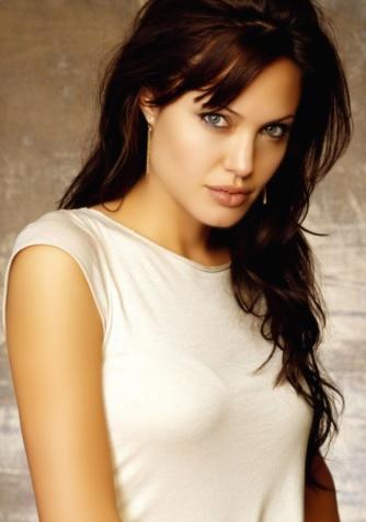 Foto de Angelina Jolie en sesión fotográfica