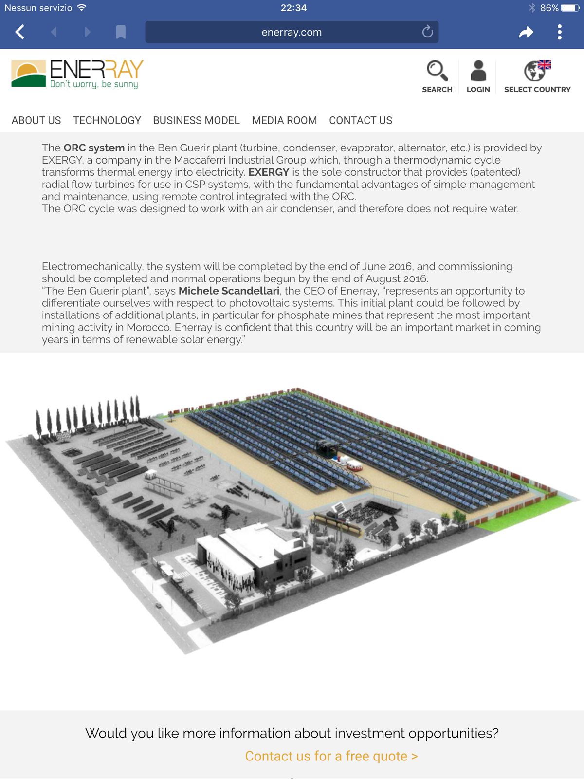 business plan impianto fotovoltaico romania