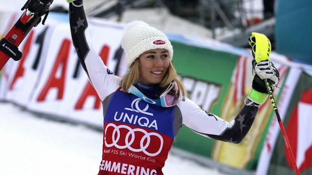 Mikaela Shiffrin Sets a New Record in the Slalom World Cup