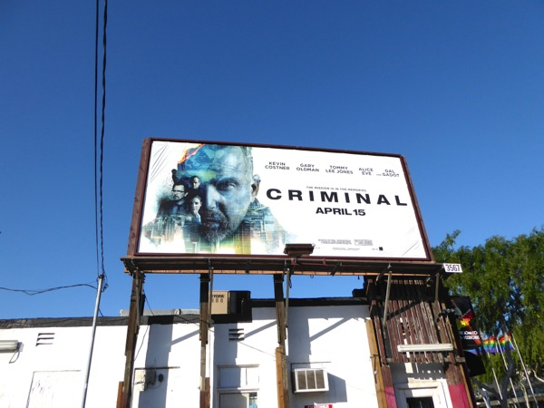 Criminal movie billboard