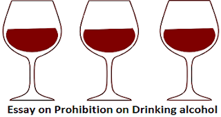 Essay on Prohibition on Drinking alcohol