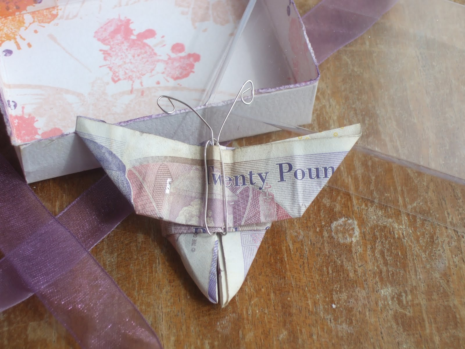5 Pound Note Origami Butterfly