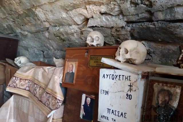 capela biserica Kastro Thassos