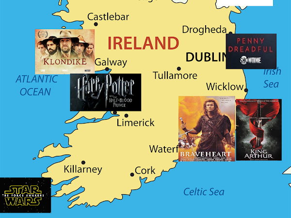 [Irish Week] Movies and Tv Series filmed in Ireland, but NOT set in Ireland