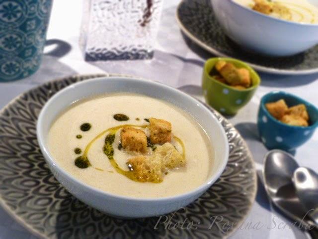Supa de anghinare de Ierusalim