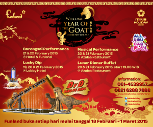 Chinese New Year 2015 Bersama Mikie Holiday Resort
