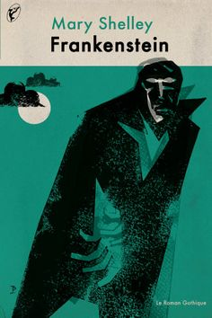 Frankenstein by Marry Shelley book cover